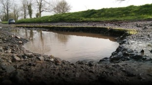 Potholes on country road raise safety concerns