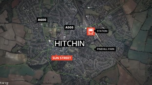 Pedestrian dies after being hit by car 'while lying in the road' in Hitchin