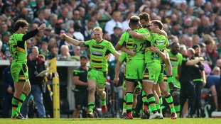 Northampton Saints end 11-year wait for victory at home of fiercest rivals Leicester