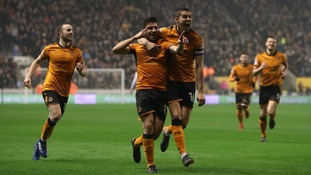 Wolverhampton Wanderers promoted to the Premier League