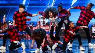 DVJ in action during the audition stage for ITV1's talent show, Britain's Got Talent.
