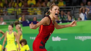 Cumbria's Helen Housby secures Commonwealth netball win