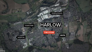 Teenagers sprayed with 'unknown substance' after row outside pizza shop in Harlow