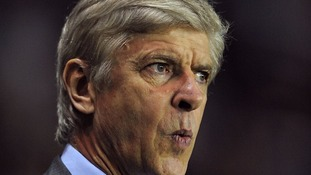 Arsene Wenger saw his side lose 2-1 to Chelsea at Stamford Bridge