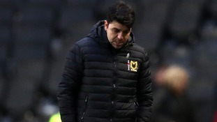 Dan Micciche: MK Dons boss sorry for accusing fans of leaking team news
