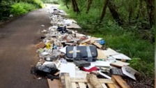 Rubbish clear-up costs charity £50,000 pounds a year