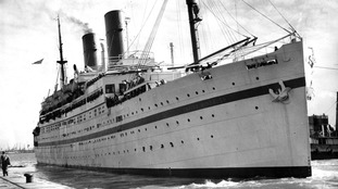 The SS Empire Windrush, which brought immigrants from Jamaica, Trinidad and Tobago and other islands, to the UK