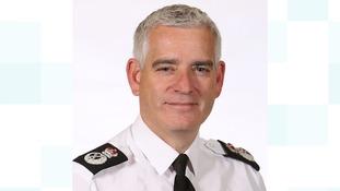Retiring chief constable, Dave Jones.