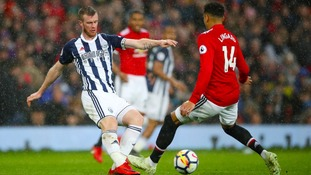 It's probably too little too late, but it is a positive - Chris Brunt after West Brom's win over Man Utd