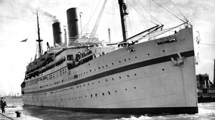 The SS Empire Windrush, which brought immigrants from Jamaica, Trinidad and Tobago and other islands, to the UK.