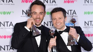 Declan Donnelly (right) is hosting the final episodes of Saturday Night Takeaway alone.