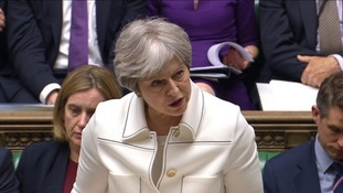 Theresa May told MPs that the decision to join airstrikes against Syria was 'not just morally right but legally right'.