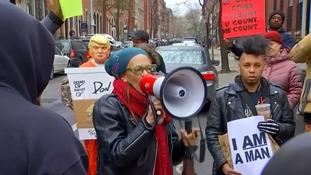 Arrest of two black men in Starbucks sparks protests in Philadelphia