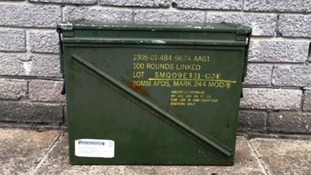 Boxes of Navy ammunition found on Cornish beaches
