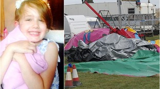 Bouncy castle death trial:  Father tried to save daughter as inflatable's blown away