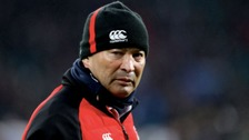 England head rugby coach Eddie Jones was subject to verbal abuse
