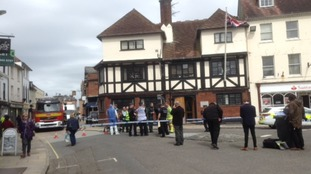 Suspicious substance found at Hampshire MP's office NOT hazardous