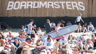 Boardmasters takes place across Fistral Beach and Watergate Bay in Cornwall from August 8 to 12.