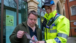 Keep safe card user Richard Sherratt