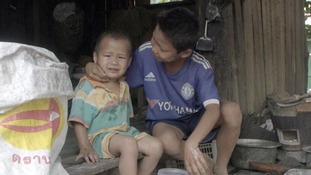Children in Myanmar are under threat from new strains of malaria.