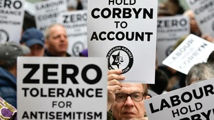 The anti-Semitism row has engulfed the Labour Party in recent weeks.