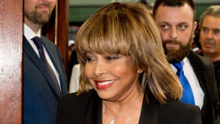 Tina Turner attends premiere of musical about her life