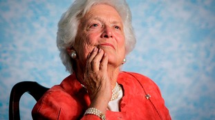 George W Bush pays touching tribute to mother Barbara Bush after her death aged 92