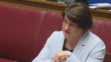 DUP leader and former enterprise minister Arlene Foster gives evidence to the RHI inquiry