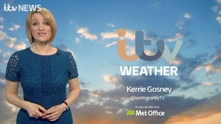 Here's Kerrie with the latest weather