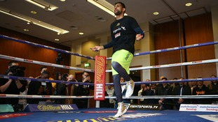 Khan will fight at the Echo Arena this weekend