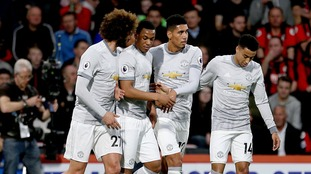 Manchester United bounce back from West Brom defeat by beating Bournemouth thanks to goals from Smalling and Lukaku