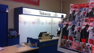 Tobacco displays banned