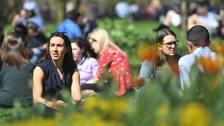 Temperatures rise as hottest April day in decades forecast