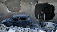 Gunmen fire on UN experts at Syria chemical attack site