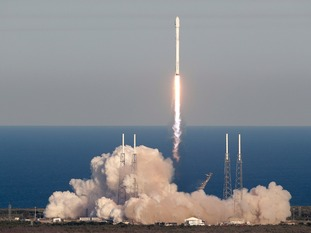 Tess was launched using a SpaceX Falcon rocket