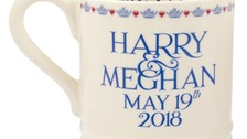 Mugs go on sale for Harry and Meghan's wedding