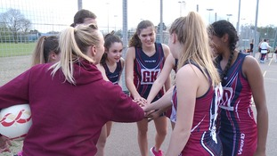 Netball is gaining in popularity.
