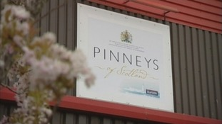 The Pinneys factory in Annan.