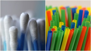 Plastic straws and cotton buds could be banned in crackdown on plastic pollution
