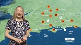 Philippa has the lunchtime weather update for the west