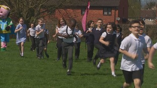 More than a hundred schools in Gloucestershire now running the daily mile