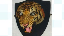 The tiger's head is valued at £3,200