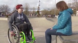 Lily Rice to perform amazing wheelchair stunt in America