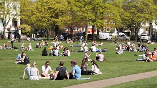 Hottest day in April in Britain for nearly 70 years