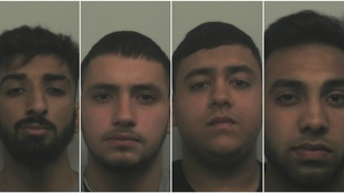 The men have been jailed for 17 years between them.