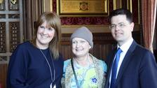 MPs hail 'inspirational' Tessa Jowell during cancer debate