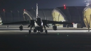 Tornado aircraft from RAF Marham in Norfolk took part in the military operation in Syria at the weekend.