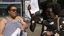 'I'm British now!' - first Windrush immigrants granted citizenship