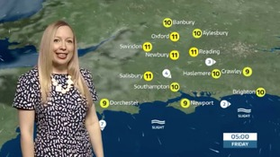 Thursday evening's weather update for the west