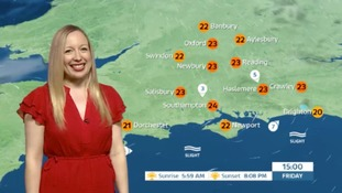 Philippa has Friday's weather for the west